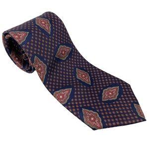 Liberty Tie Classic Modern Silk Blue Red Necktie